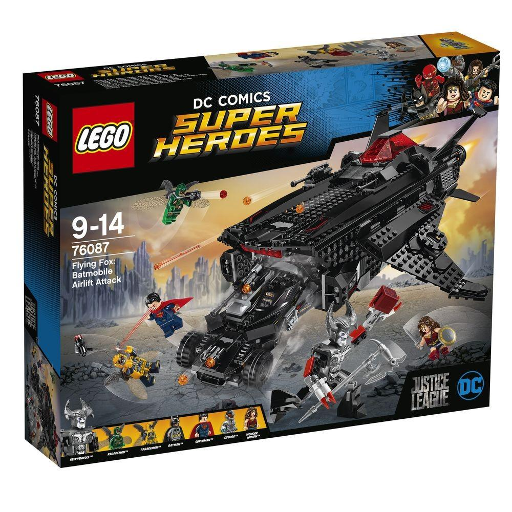 ATAQUE AEREO - LEGO - Flying Fox: Batmobile Airlift Attack