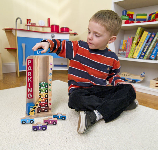 ESTACIONAMIENTO PARA APILAR Y CONTAR - MELISSA & DOUG - STACK & COUNT PARKING GARAGE