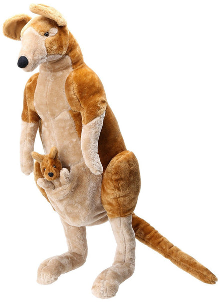 PELUCHE KANGURO - M&D - KANGAROO AND JOEY