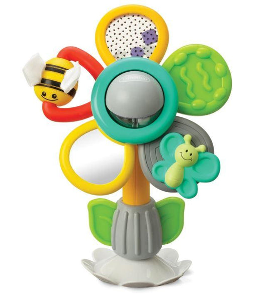 PERMANECE & JUEGA CON LA FLOR DIVERTIDA - INFANTINO - STAY & PLAY FUN FLOWER