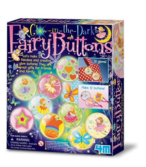 BOTONES DE HADAS / BRILLA EN LA OSCURIDAD  -  GLOW IN THE DARK / FAIRY BUTTONS