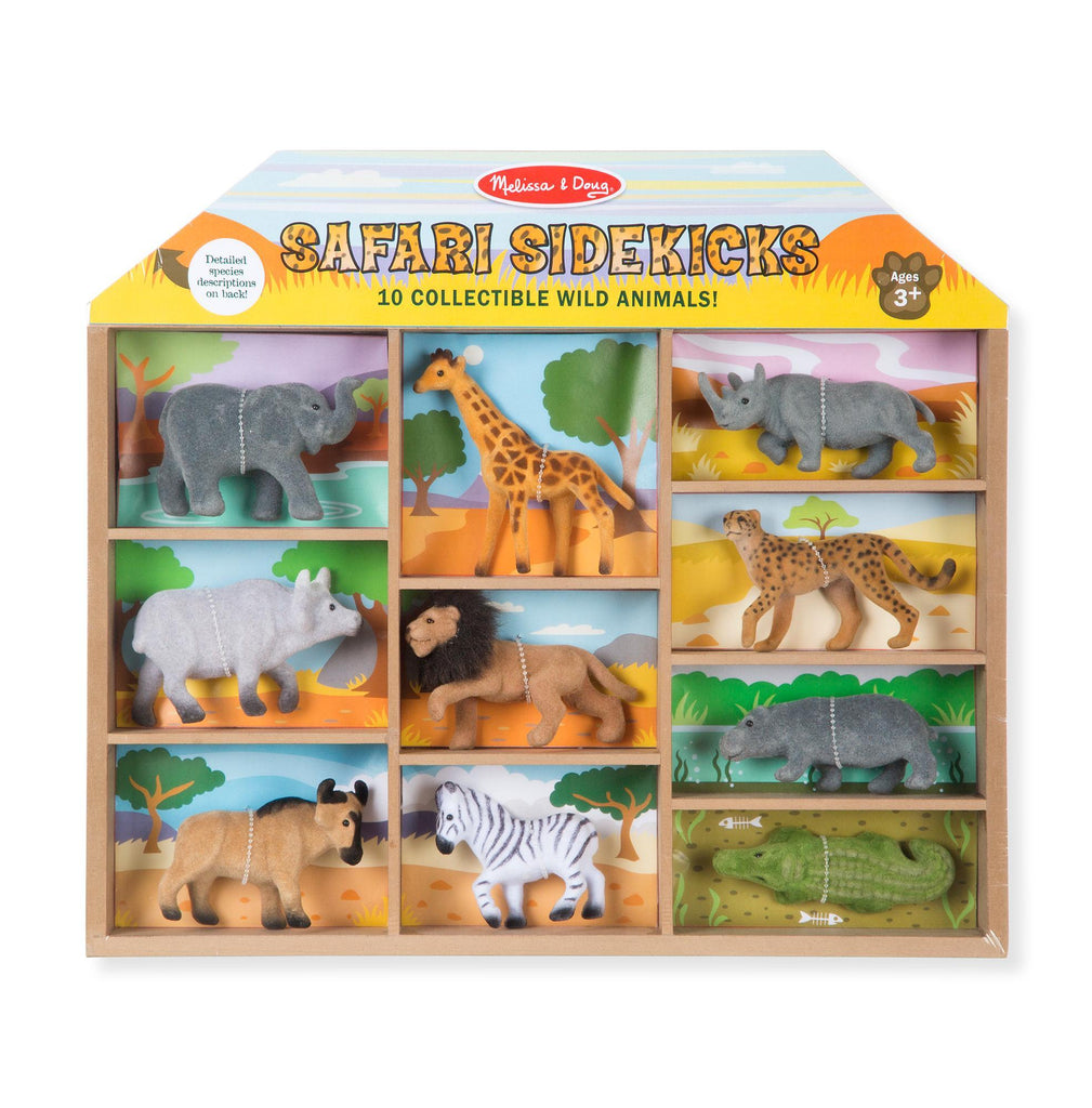 COMPAÑEROS DEL SAFARI - MELISSA & DOUG - SAFARI SIDEKICKS