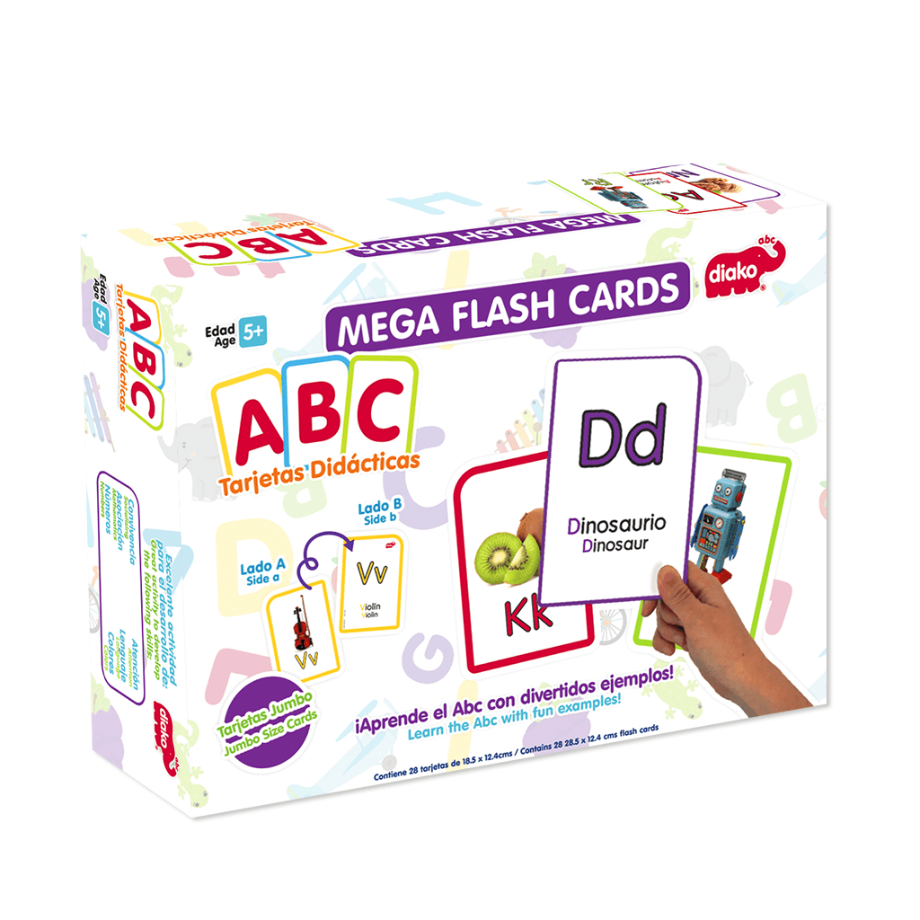MEGA FLASH CARDS ABC