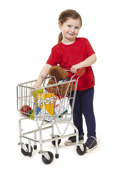 Carro de compras - Shopping Cart Toy - Metal Grocery Wagon