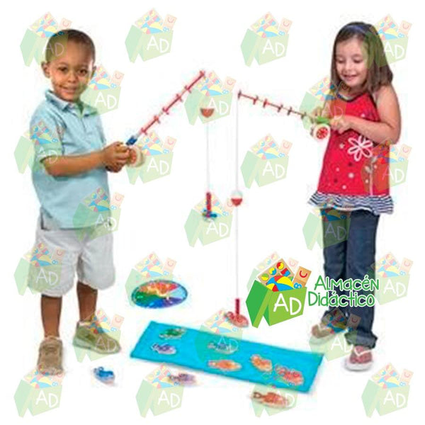 CUENTA & ATRAPA PECES - MELISSA & DOUG -  CATCH & COUNTING FISHING GAME
