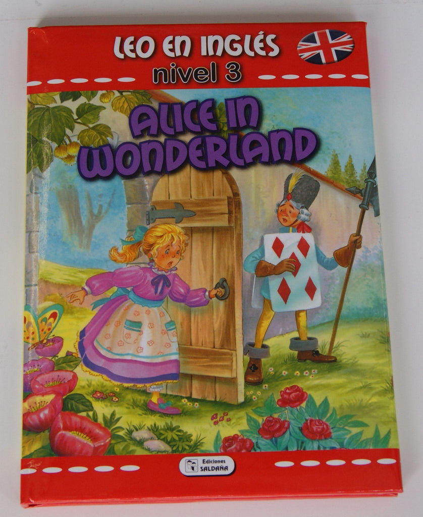 LIBRO ALICE IN WONDERLAND - COLECCION LEO EN INGLES - NIVEL 3