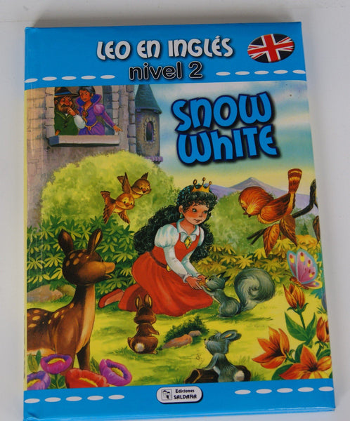 LIBRO SNOW WHITE - COLECCION LEO EN INGLES - NIVEL 2