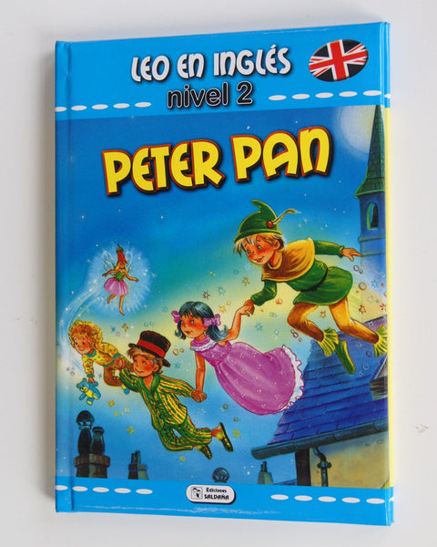 LIBRO PETER PAN - COLECCION LEO EN INGLES - NIVEL 2