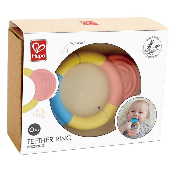 ANILLO MORDEDOR - HAPE - TEETHER RING