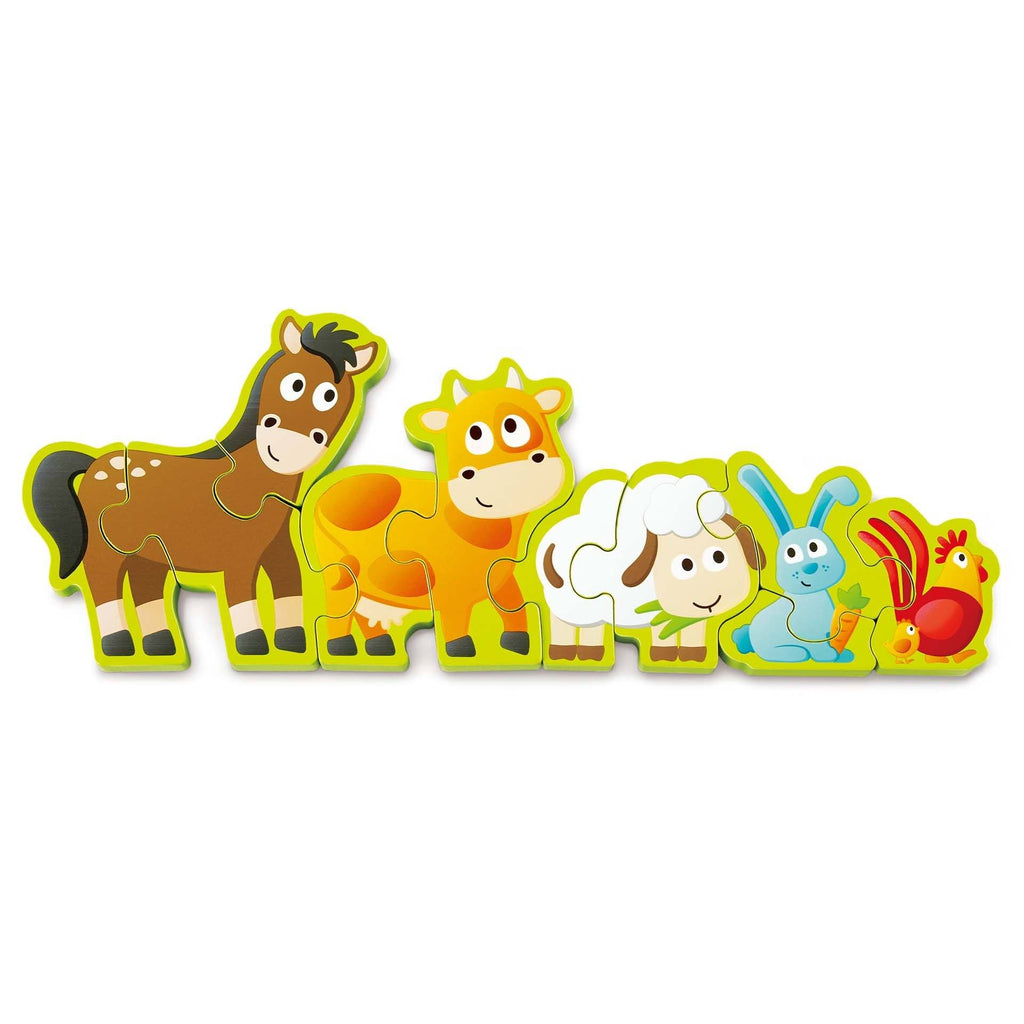 ANIMALES DE GRANJA Y NUMEROS - HAPE - NUMBERS & FARM ANIMALS