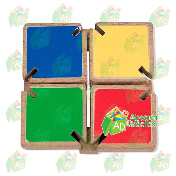 Espejo con aletas de colores - Melissa & Doug - Colour Flap Mirror