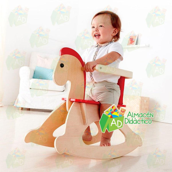 CABALLO SUBE Y MECE  - HAPE -  GROW WITH ME ROCKING HORSE