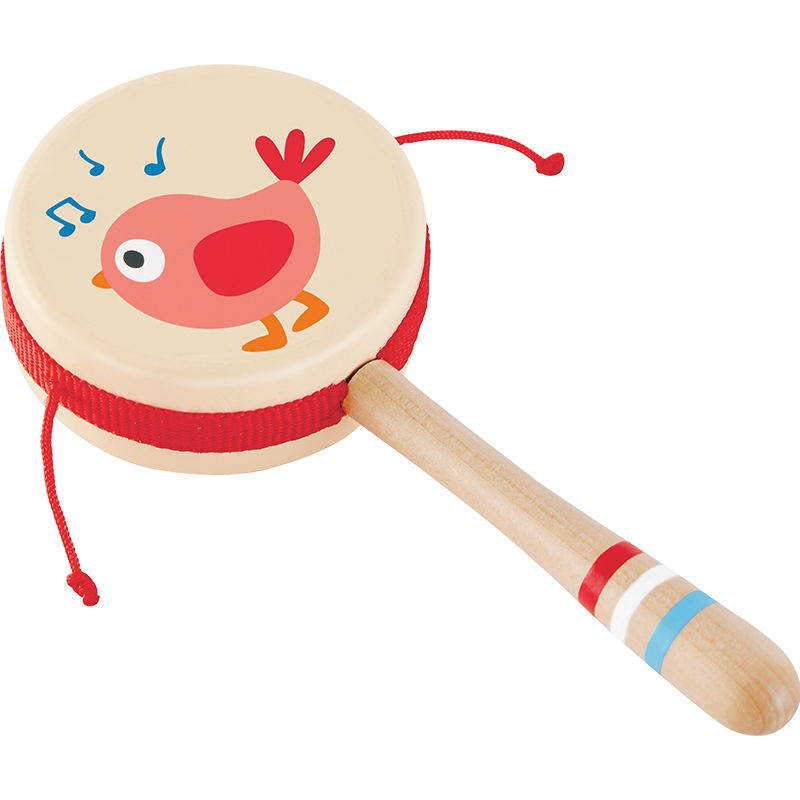 TAMBORIN - HAPE - DRUM-SHAPED RATTLE