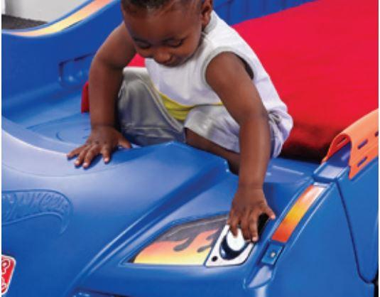 Hot Wheels Toddler to Twin Race Car Bed