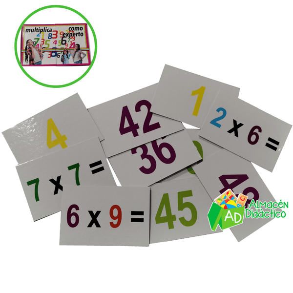 FLSH CARDS TABLAS DE MULTIPLICAR