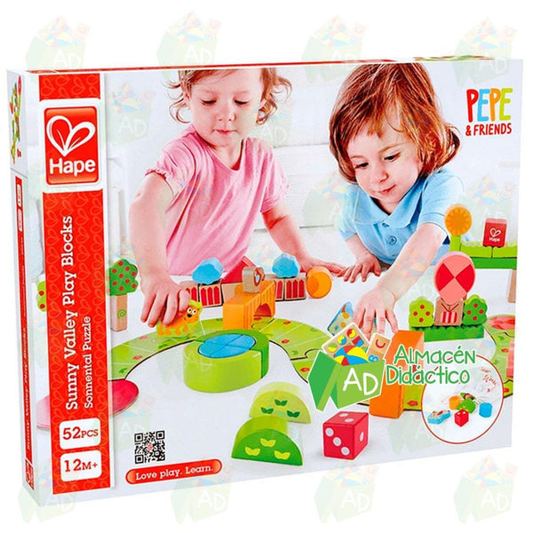 ZONA RECREATIVA EL MUNDO DE PEPE - HAPE  -  SUNNY VALLEY PLAY BLOCKS