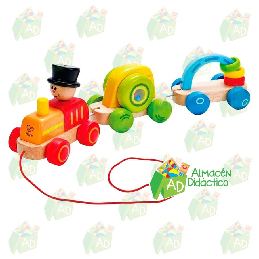 TREN DE JUEGO TRIPLE  - HAPE  -  TRIPLE PLAY TRAIN