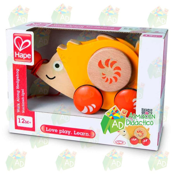 ERIZO DE ARRASTRE  - HAPE - WALK A LONG HEDGEHOG