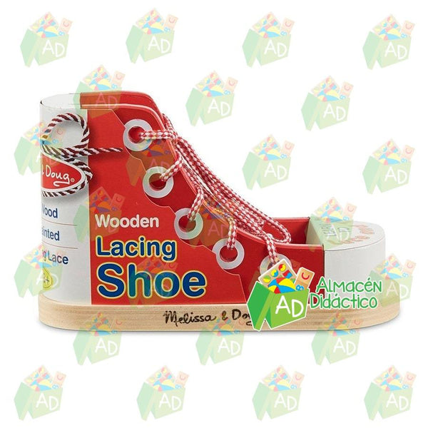 Zapato para aprender a amarrar - Melissa and Doug - Lacing Shoe