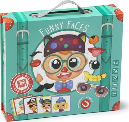 JUEGO MAGNETICO CARAS DIVERTIDAS - EUREKAKIDS - LEARNING BAG FUNNY FACES