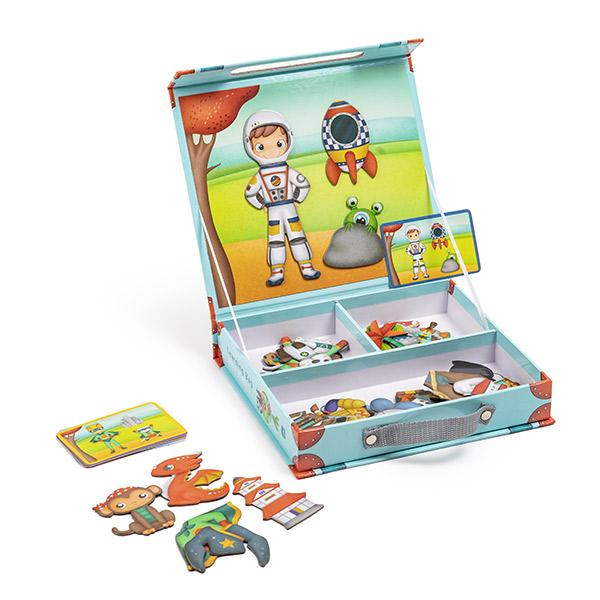 JUEGO MAGNETICO HEROES DEL MUNDO - EUREKAKIDS - LEARNING BAG HEROES OF THE WORLD