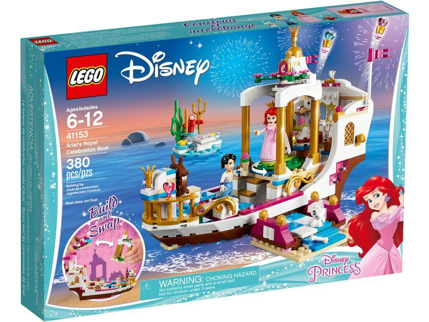 ARIEL'S ROYAL CELEBRATION BOAT -LEGO- BARCO REAL DE CEREMONIAS DE ARIEL