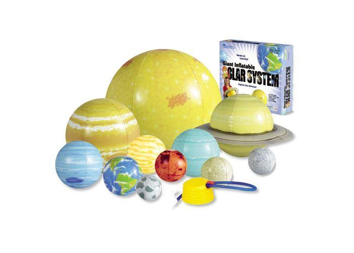 SISTEMA SOLAR INFLABLE - INFLATABLE SOLAR SYSTEM