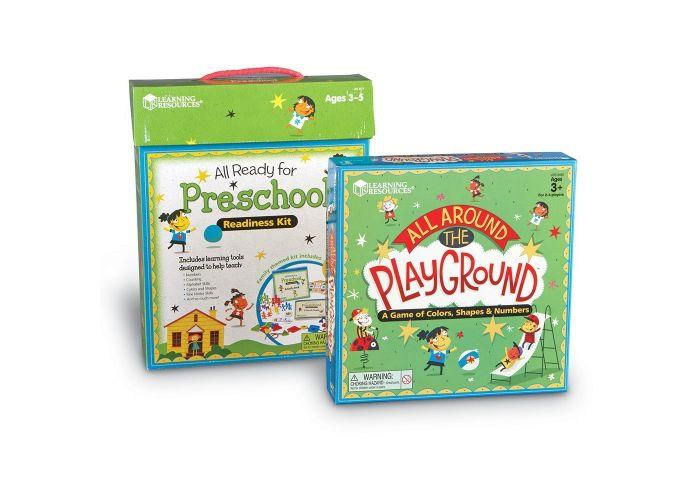 KIT DE PREPARACION PREESCOLAR - ALL READY FOR PRESCHOOL READINESS KIT