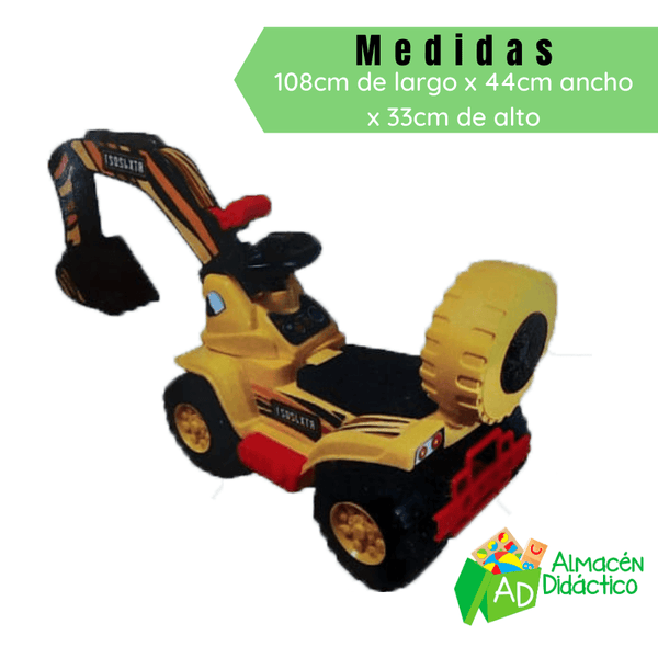 CARRO MONTABLE RETROEXCAVADORA