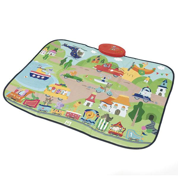 TAPETE MUSICAL DE LA CIUDAD - EUREKAKIDS - MUSICAL CITY PLAYMAT