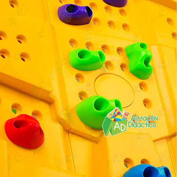 RESBALADILLA CON PARED DE ESCALAR / SLIDE WITH CLIMBING WALL