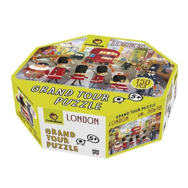 ROMPECABEZAS GRAN TOUR LONDRES - EUREKAKIDS - PUZZLE WORLD GRAND TOUR  LONDON