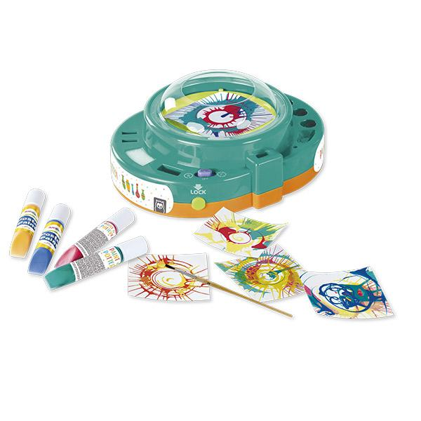 TORNO DE PINTAR Y CERAMICA 2 EN 1 - EUREKAKIDS - PAINT AND POTERY WHEEL 2 IN 1