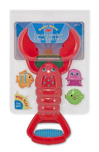 LANGOSTA CAZA PECES - MELISSA & DOUG - LOUIE LOBSTER CLAW AND CATCHER