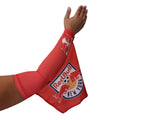 NEW YORK RED BULLS MLS SOCCER ARM Sleeve Flag, COMING SOON...Not for sale Yet!