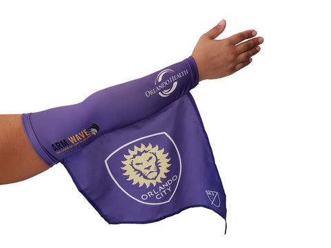 ORLANDO CITY MLS SOCCER ARM SLEEVE Flag, .. COMING SOON..Not for sale yet!