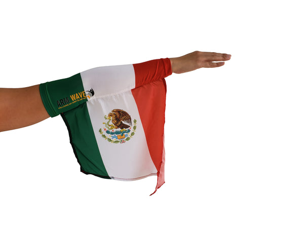 MEXICO ARM and LEG FLAG (Arm Sleeve/Band) for the Mexican wave
