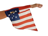 USA (American) ARM and LEG FLAG (ARM BAND, SLEEVE) for all arm raising activities