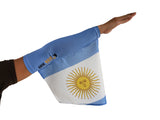ARGENTINA FLAG, the new trendy Arm Sleeve and Foot Flag