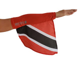 Trinidad Arm Wave Arm and Leg Sleeve flag (Arm Band) for Carnival, the new flag sleeve.
