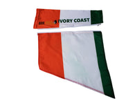 Ivory Coast Arm Wave Sleeve Flag (Arm Band) to represent your Country