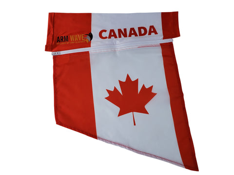 Canada Arm Sleeve Flag (Arm band, Sleeve, Leg flag) for Fans and Supporters