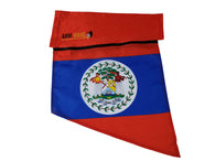 BELIZE ARM WAVE SLEEVE FLAG (Arm Band), the Official Cheering Instrument for fans