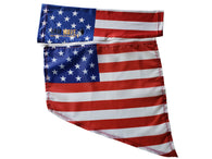 "USA Zipper Arm Sleeve Flag ""Removable Wing"""