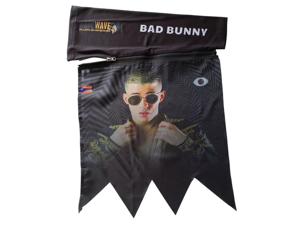 New arm wave arm sleeve for celebrities (famous Rappers, Singer & DJ), Bad Bunny Arm Flag