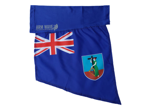MONTSERRAT ARM and LEG FLAG (Arm band, Sleeves) for famous singers and Celebs.