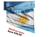 ARGENTINA FLAG, purchase ONE DOZEN (12), at Wholesale price