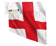"ENGLAND ARM and FOOT FLAGS, for sale! purchase ONE DOZEN (12), ""Wholesale"""