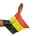 BELGIUM ARM and FOOT FLAG ( Official Cheering Instrument) for Sports