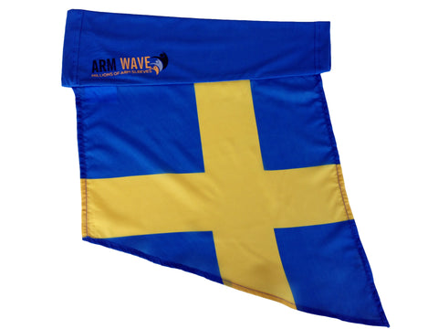 Sweden Arm and Leg Flag for sale! Purchase (One Dozen) wholesale